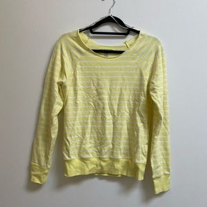 Striped Yellow Pullover